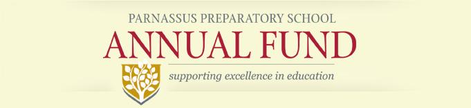 Parnassus Annual Fund Campaign logo